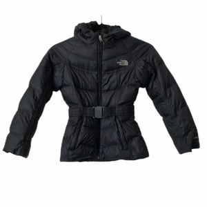 The North Face Girl's Black Puffer Jacket Size 7/8